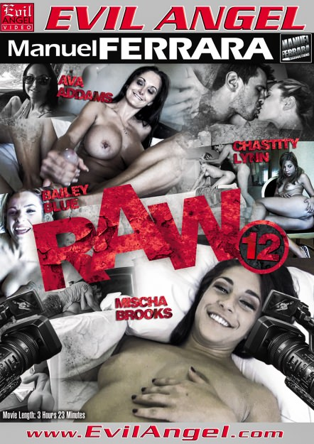 Raw #12 Dvd Cover