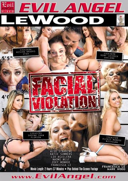 Facial Vi0lation Dvd Cover
