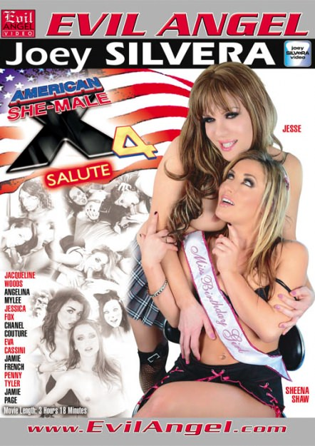 American She-Male X #04 Dvd Cover