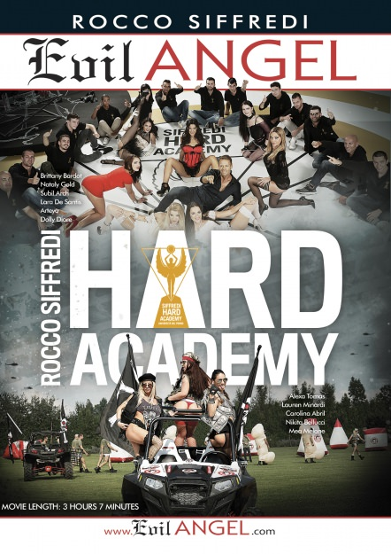 Rocco Siffredi Hard Academy Dvd Cover