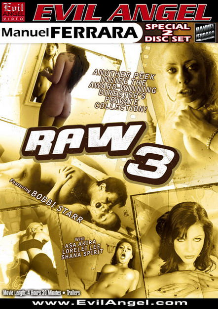 Raw #03 Dvd Cover