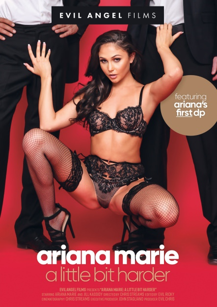 Ariana Marie: A Little Bit Harder Dvd Cover