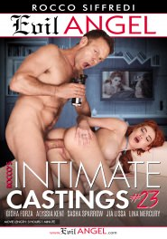 Rocco's Intimate Castings #23 Dvd Cover