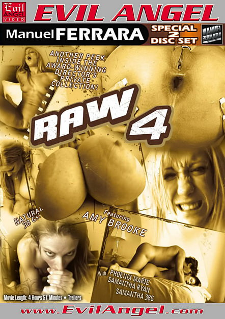 Raw #04 Dvd Cover