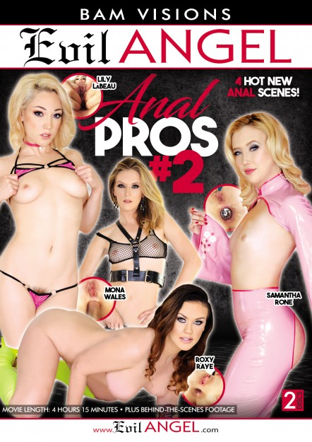 Anal Pros #02 Dvd Cover