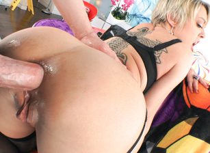 MILF Dee Sodomized To Gaping Prolapse!