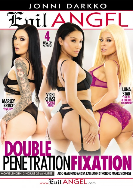 Double Penetration Fixation Dvd Cover