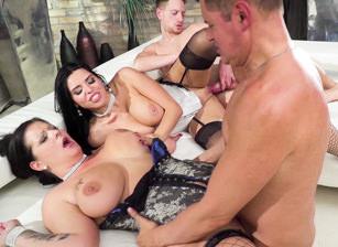 Anal/Big Boob/BBC Orgy, Pussy Creampie