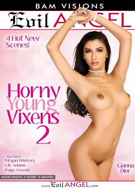 Horny Young Vixens #02 Dvd Cover