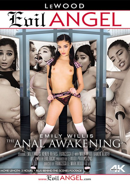 Emily Willis: The Anal Awakening DVD Cover