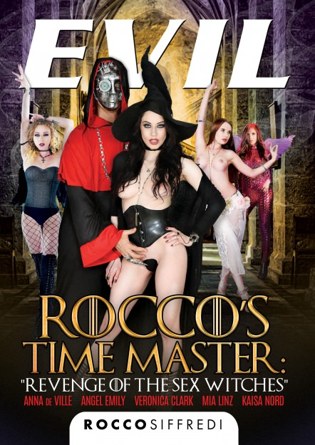 Rocco's Time Master Revenge of the Sex Witches DVD Cover