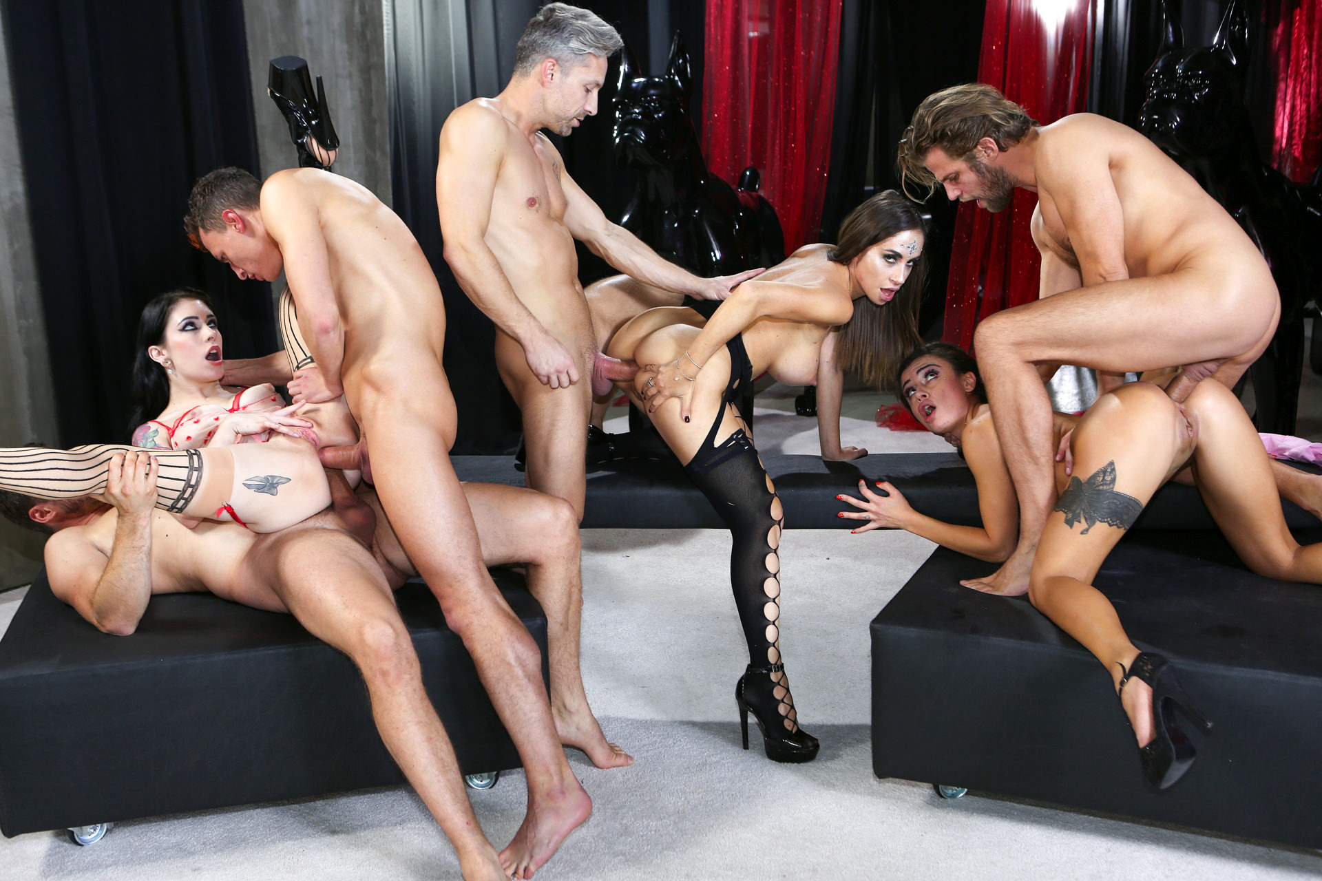 Download EvilAngel.com - Rocco's Game Of Whores, Scene 02